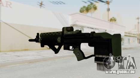 Killzone - M82 Assault Rifle pour GTA San Andreas deuxième écran
