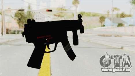 M5K pour GTA San Andreas deuxième écran