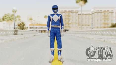 Mighty Morphin Power Rangers - Blue für GTA San Andreas zweiten Screenshot