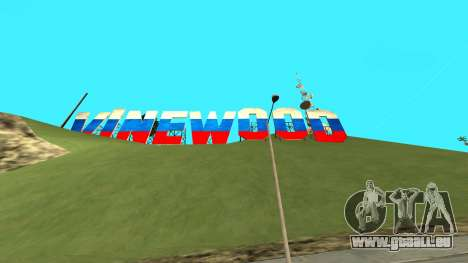 New Vinewood Russia pour GTA San Andreas