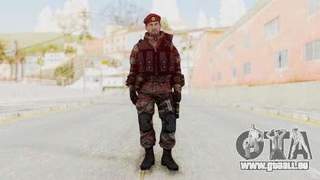 Battery Online Russian Soldier 1 v2 pour GTA San Andreas deuxième écran