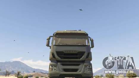 GTA 5 Iveco Stralis HI-WAY droite vue latérale