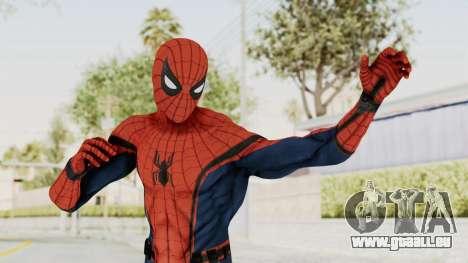 Captain America Civil War - Spider-Man pour GTA San Andreas