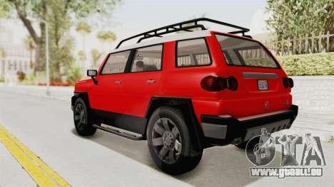 GTA 5 Karin Beejay XL IVF für GTA San Andreas linke Ansicht