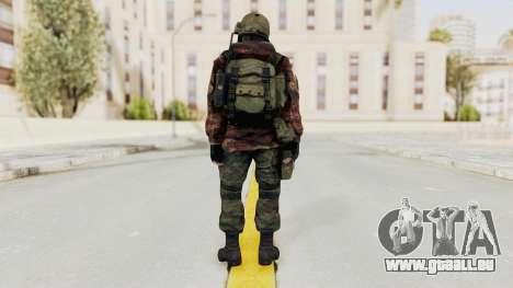 Battery Online Russian Soldier 10 v2 für GTA San Andreas dritten Screenshot