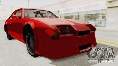 Imponte Centauro - Civil Hotring Racer A für GTA San Andreas rechten Ansicht