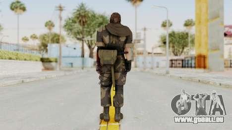 MGSV The Phantom Pain Venom Snake Sc No Patch v4 pour GTA San Andreas troisième écran