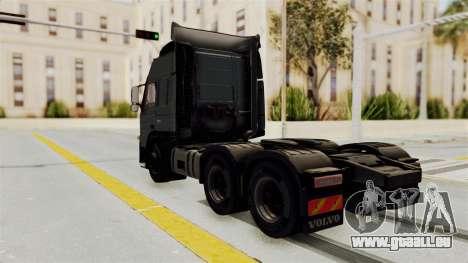 Volvo FM Euro 6 6x4 v1.0 pour GTA San Andreas sur la vue arrière gauche