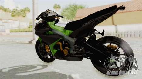 Yamaha MX King 150 Modif 250 GP pour GTA San Andreas laissé vue