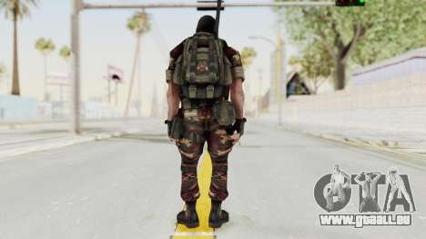 Battery Online Russian Soldier 3 v2 pour GTA San Andreas troisième écran