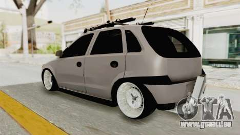 Opel Corsa für GTA San Andreas linke Ansicht