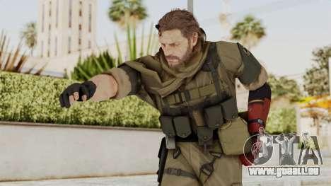 MGSV The Phantom Pain Venom Snake Sc No Patch v1 für GTA San Andreas