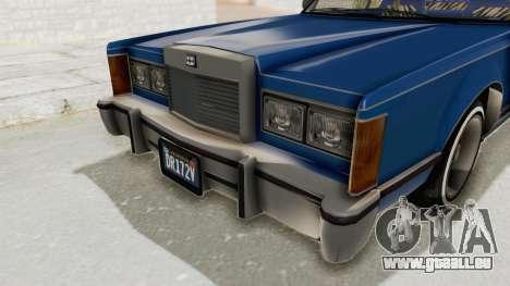 GTA 5 Dundreary Virgo Classic Custom v1 IVF pour GTA San Andreas vue de côté