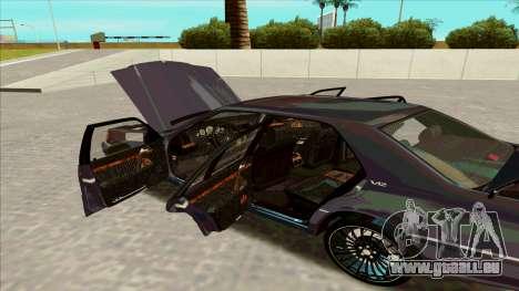 Mercedez-Benz W140 pour GTA San Andreas vue de droite