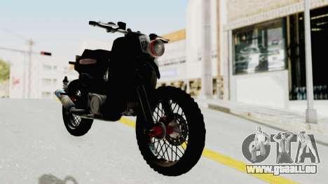 Honda Super Cub Modif Moge für GTA San Andreas