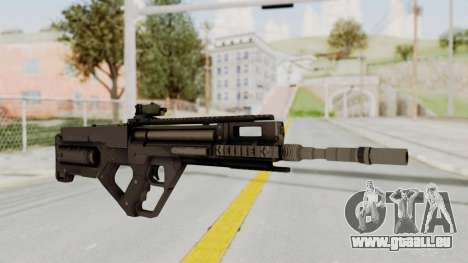 Integrated Munitions Rifle Black pour GTA San Andreas