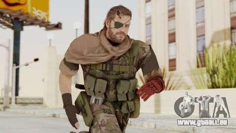 MGSV The Phantom Pain Venom Snake Scarf v6 für GTA San Andreas