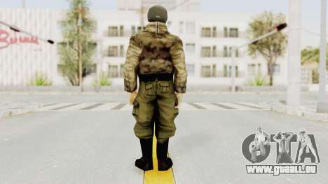 Russian Solider 3 from Freedom Fighters pour GTA San Andreas troisième écran