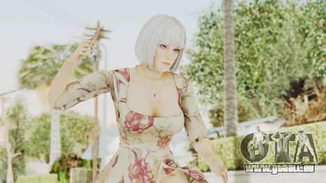 Dead Or Alive 5 LR - Christie Casual New Hair für GTA San Andreas