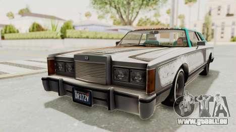 GTA 5 Dundreary Virgo Classic Custom v2 IVF für GTA San Andreas Unteransicht