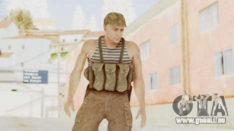 MGSV The Phantom Pain Soviet Union Tanktop v2 pour GTA San Andreas