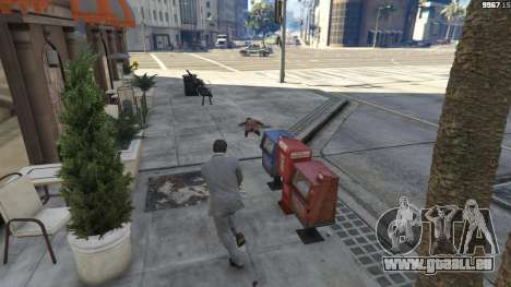 GTA 5 Realistic Bullet Damage cinquième capture d'écran