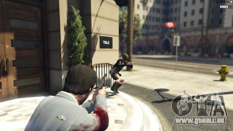GTA 5 Realistic Bullet Damage troisième capture d'écran