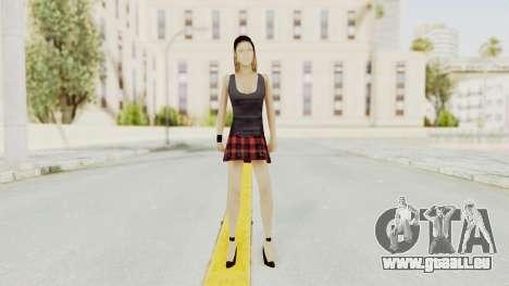 New Skin Michelle pour GTA San Andreas deuxième écran