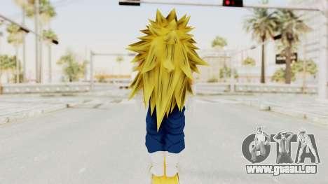 Dragon Ball Xenoverse Vegito SSJ3 für GTA San Andreas dritten Screenshot