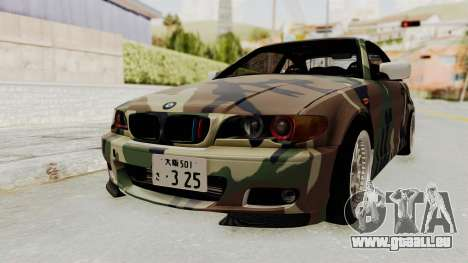 BMW 3 Series E46 pour GTA San Andreas