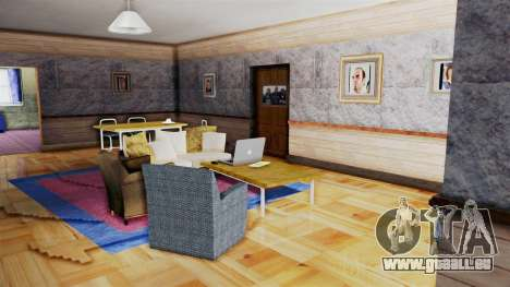 CJs House New Interior pour GTA San Andreas