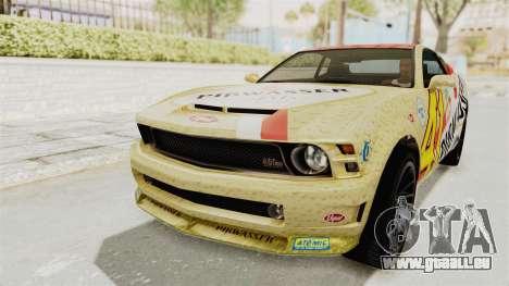 GTA 5 Vapid Dominator v2 SA Style für GTA San Andreas Innenansicht