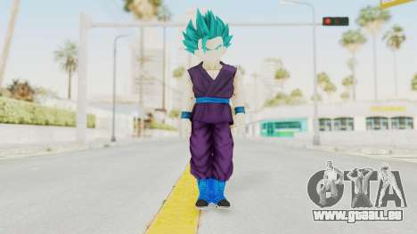 Dragon Ball Xenoverse Gohan Teen DBS SSGSS2 v1 für GTA San Andreas zweiten Screenshot