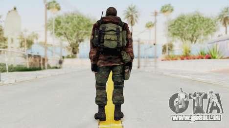 Battery Online Russian Soldier 9 v2 pour GTA San Andreas troisième écran