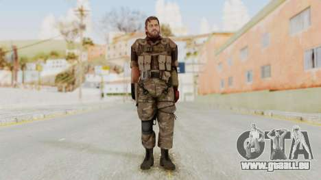 MGSV The Phantom Pain Venom Snake No Eyepatch v9 pour GTA San Andreas deuxième écran