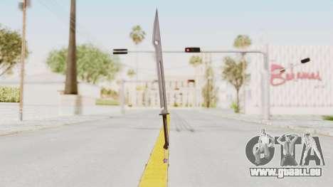 Saints Row 3 - Deckers Sword (Saints Style) pour GTA San Andreas deuxième écran