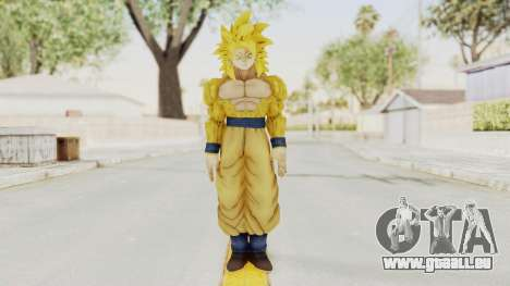 Dragon Ball Xenoverse Goku SSJ4 Golden pour GTA San Andreas deuxième écran