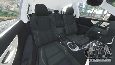 GTA 5 Infiniti FX S50 vorne rechts Seitenansicht