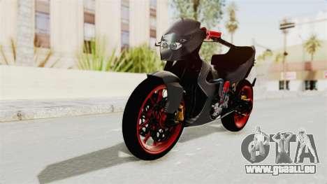 Satria FU 150 Modif FU 250 Superbike pour GTA San Andreas