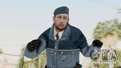 Bourne Conspirancy Zurich Police v1 für GTA San Andreas