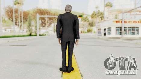 Batman Arkham Origins - Alfred für GTA San Andreas dritten Screenshot