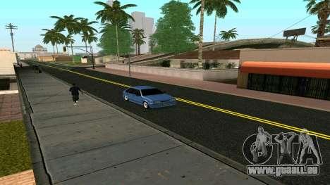 VAZ 2114 für GTA San Andreas Innenansicht