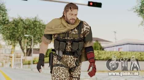 MGSV The Phantom Pain Venom Snake Sc No Patch v8 pour GTA San Andreas
