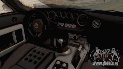 Ford GT 2005 Monster Truck pour GTA San Andreas vue arrière
