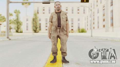 COD BO Reznov Macv pour GTA San Andreas deuxième écran