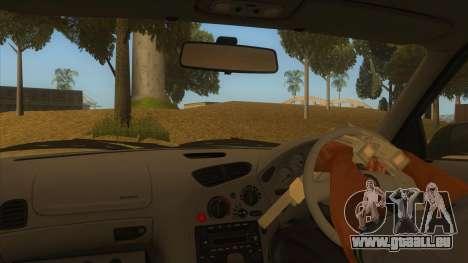 Mazda RX7 S Spirit R pour GTA San Andreas vue intérieure