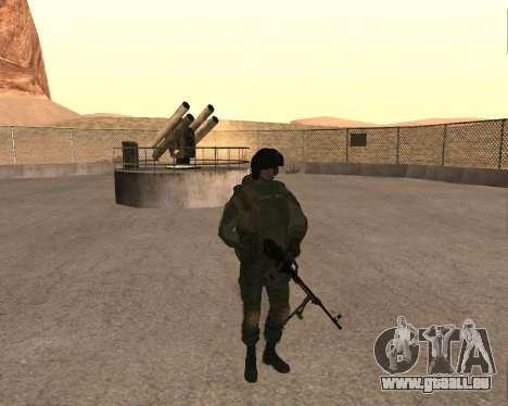 Des forces spéciales de la Fédération de russie pour GTA San Andreas deuxième écran