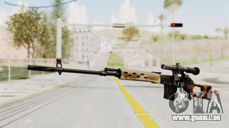 Sniper with New Realistic Crosshair pour GTA San Andreas