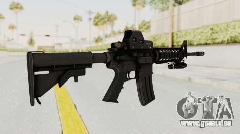AR-15 with Eotech 552 and Flashlight für GTA San Andreas zweiten Screenshot