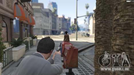 GTA 5 Realistic Bullet Damage quatrième capture d'écran